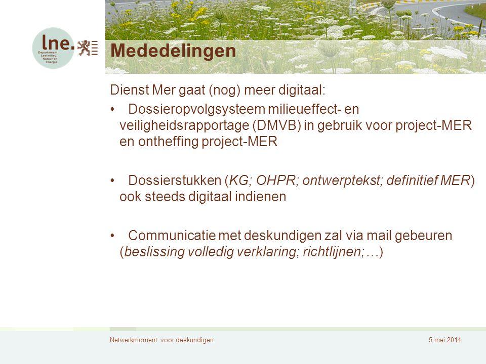 Mededelingen Dienst Mer gaat (nog) meer digitaal: