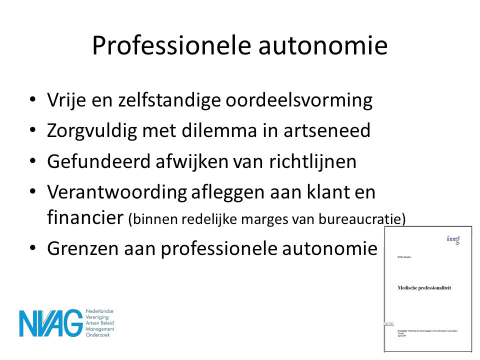 Professionele autonomie