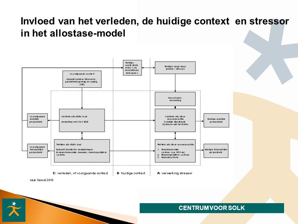 Invloed van het verleden, de huidige context en stressor in het allostase-model