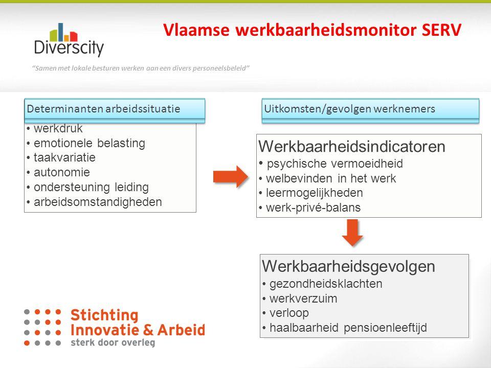 Vlaamse werkbaarheidsmonitor SERV