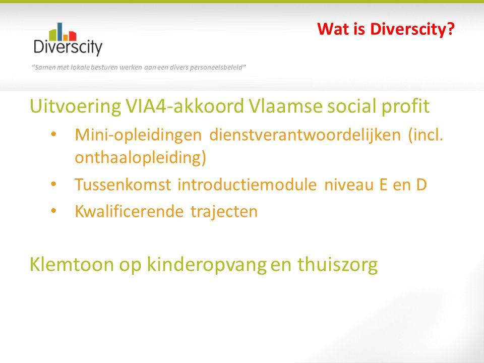 Uitvoering VIA4-akkoord Vlaamse social profit