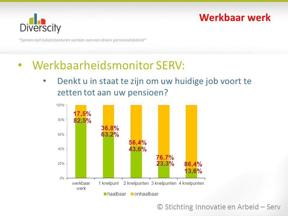 Werkbaarheidsmonitor SERV: