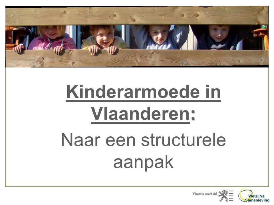 Kinderarmoede in Vlaanderen: