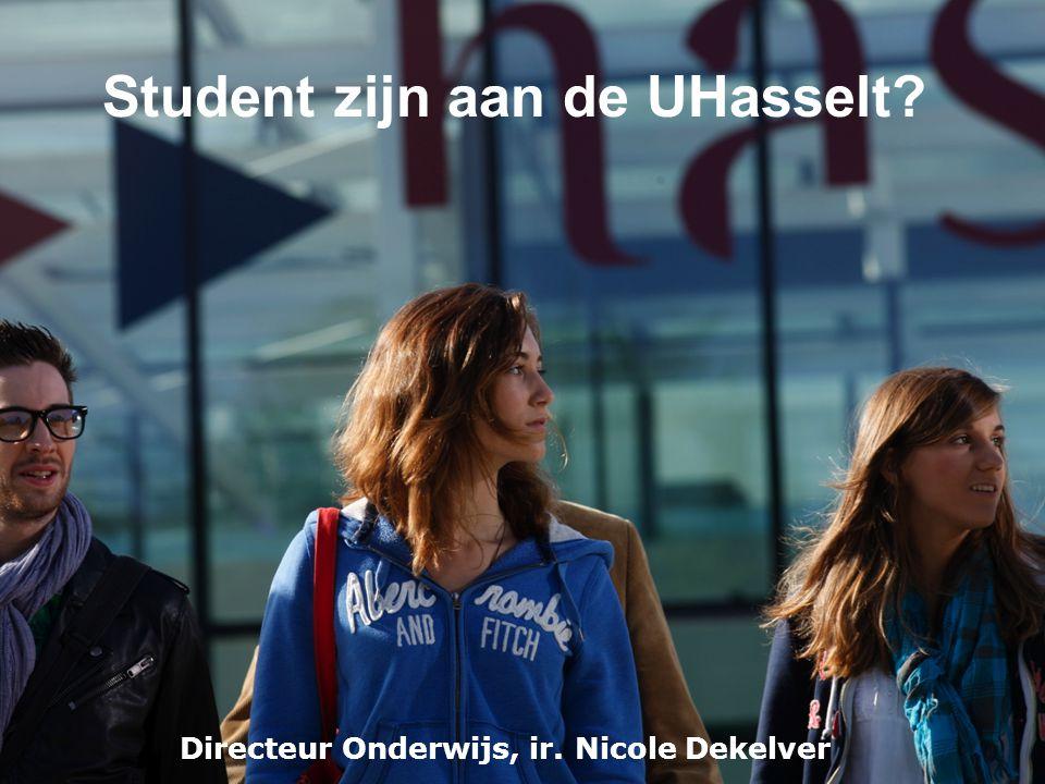 Student zijn aan de UHasselt