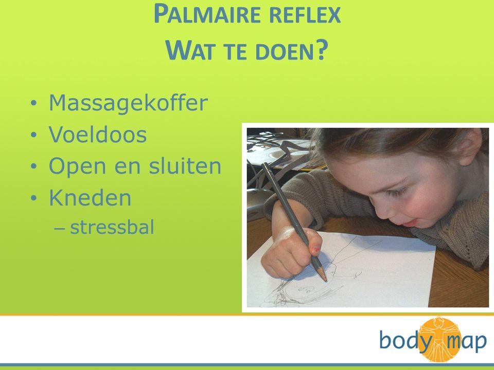 Palmaire reflex Wat te doen