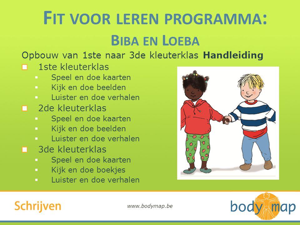 Fit voor leren programma: Biba en Loeba