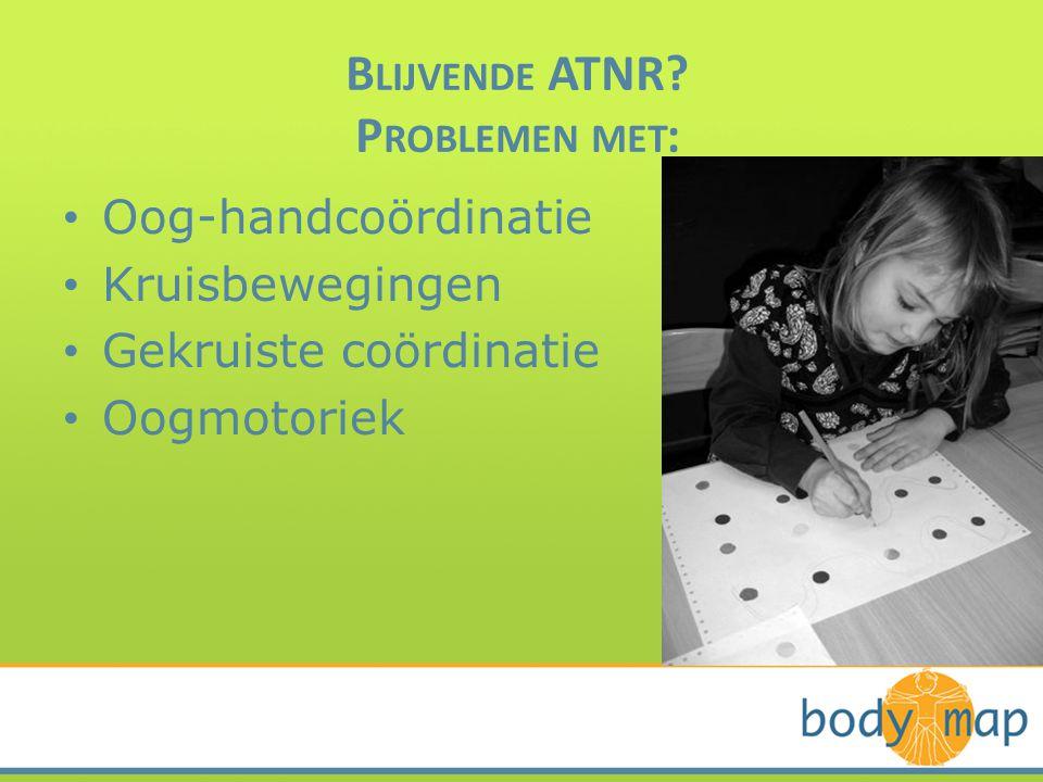 Blijvende ATNR Problemen met:
