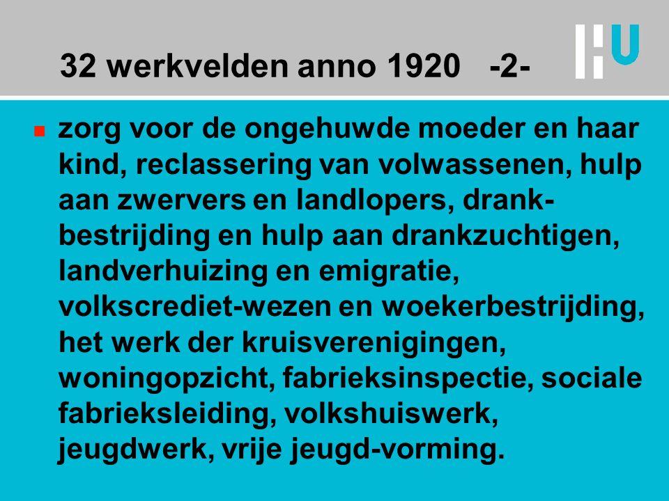 32 werkvelden anno 1920 -2-
