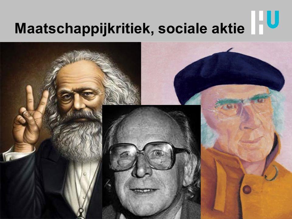 Maatschappijkritiek, sociale aktie