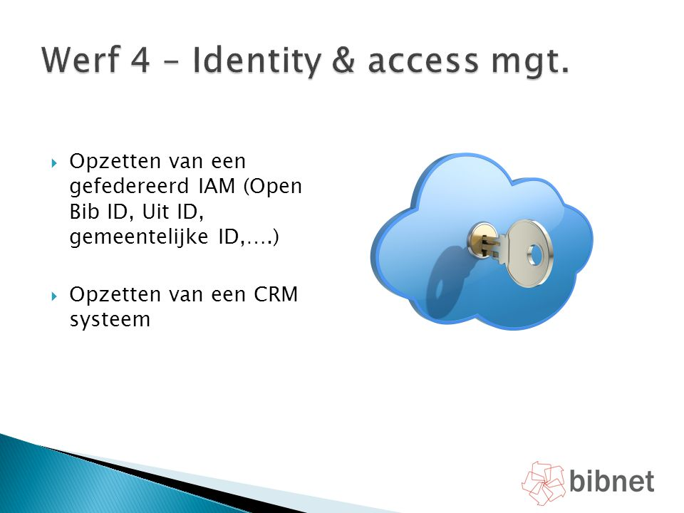 Werf 4 – Identity & access mgt.