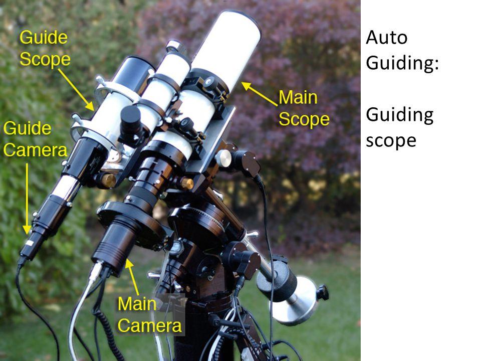 Auto Guiding: Guiding scope