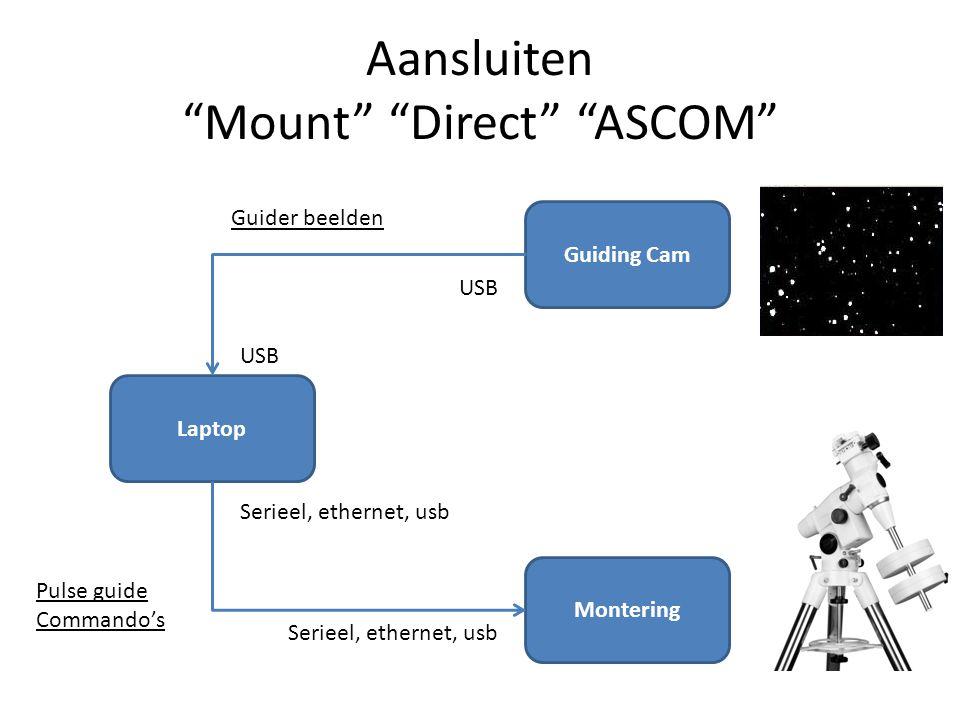 Aansluiten Mount Direct ASCOM