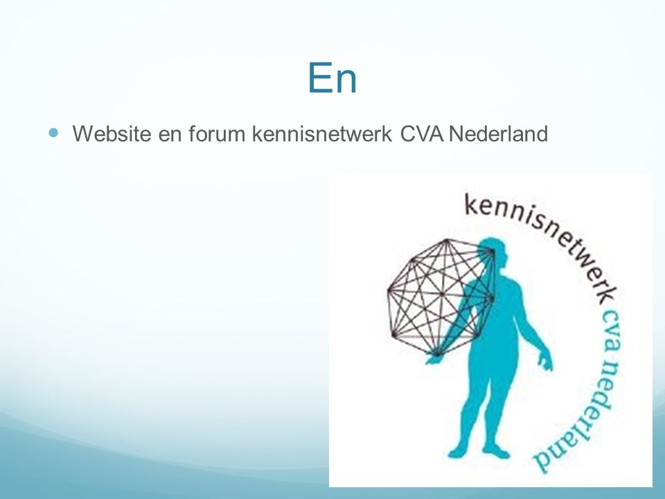 En Website en forum kennisnetwerk CVA Nederland