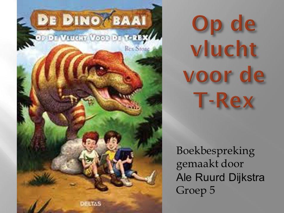 Op de vlucht voor de T-Rex