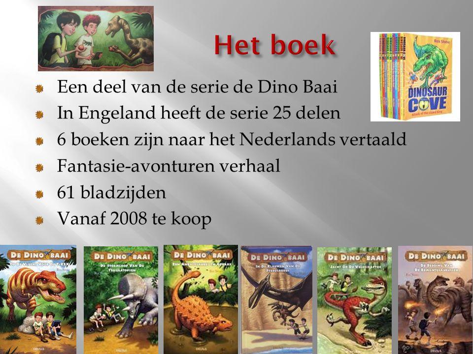 Het boek Een deel van de serie de Dino Baai
