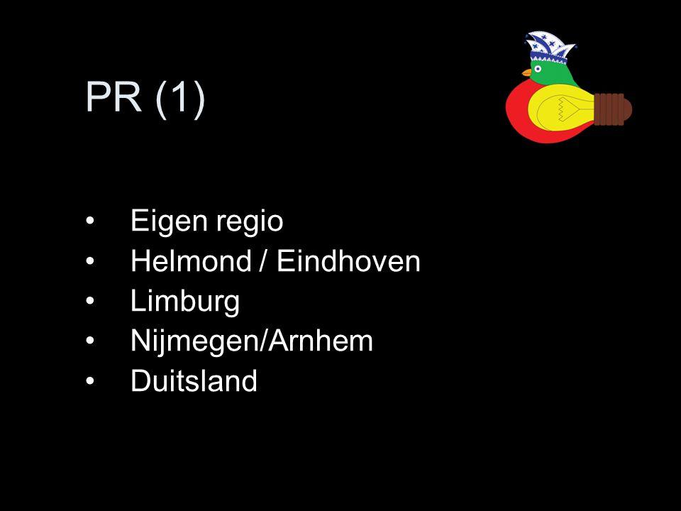 Eigen regio Helmond / Eindhoven Limburg Nijmegen/Arnhem Duitsland