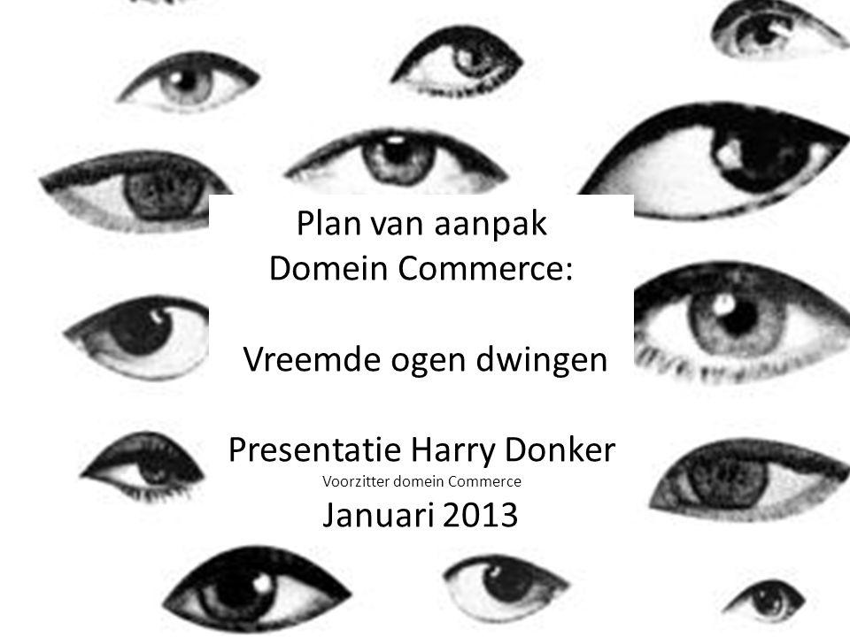 Presentatie Harry Donker Januari 2013 Harry Donker Januari 2013