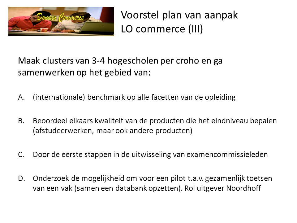 Voorstel plan van aanpak LO commerce (III)