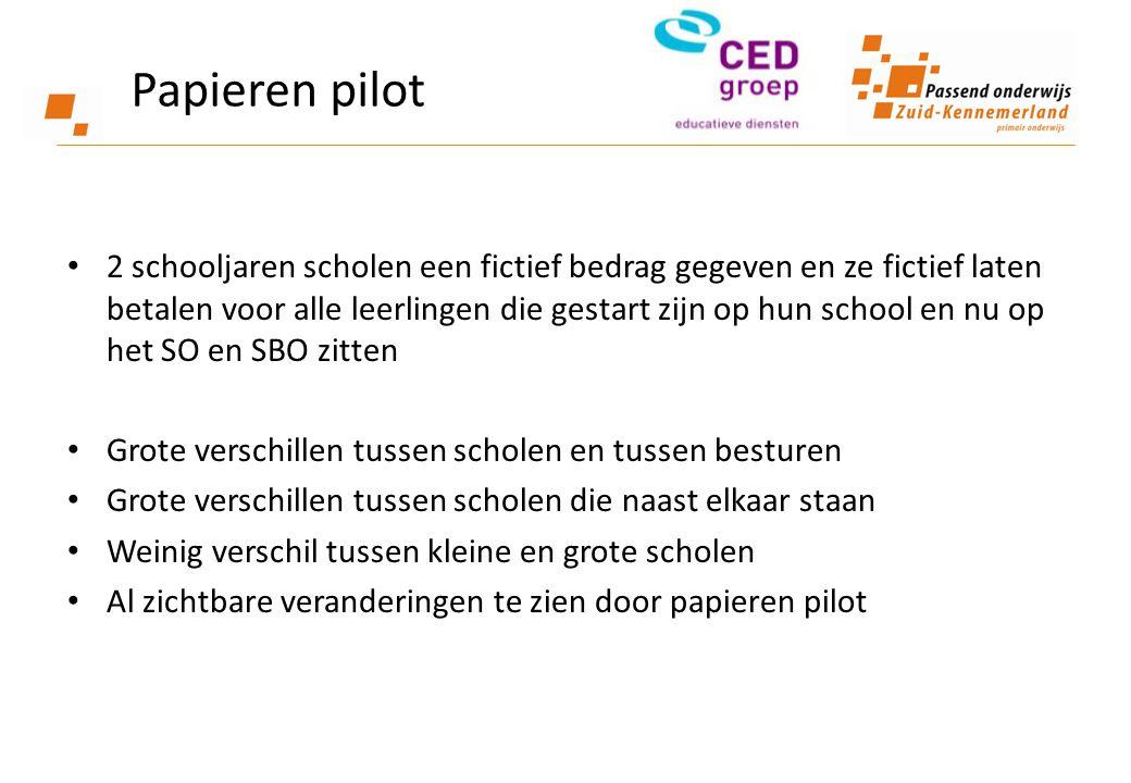 Papieren pilot