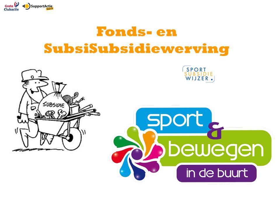 Fonds- en SubsiSubsidiewerving