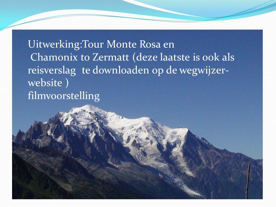 Uitwerking:Tour Monte Rosa en