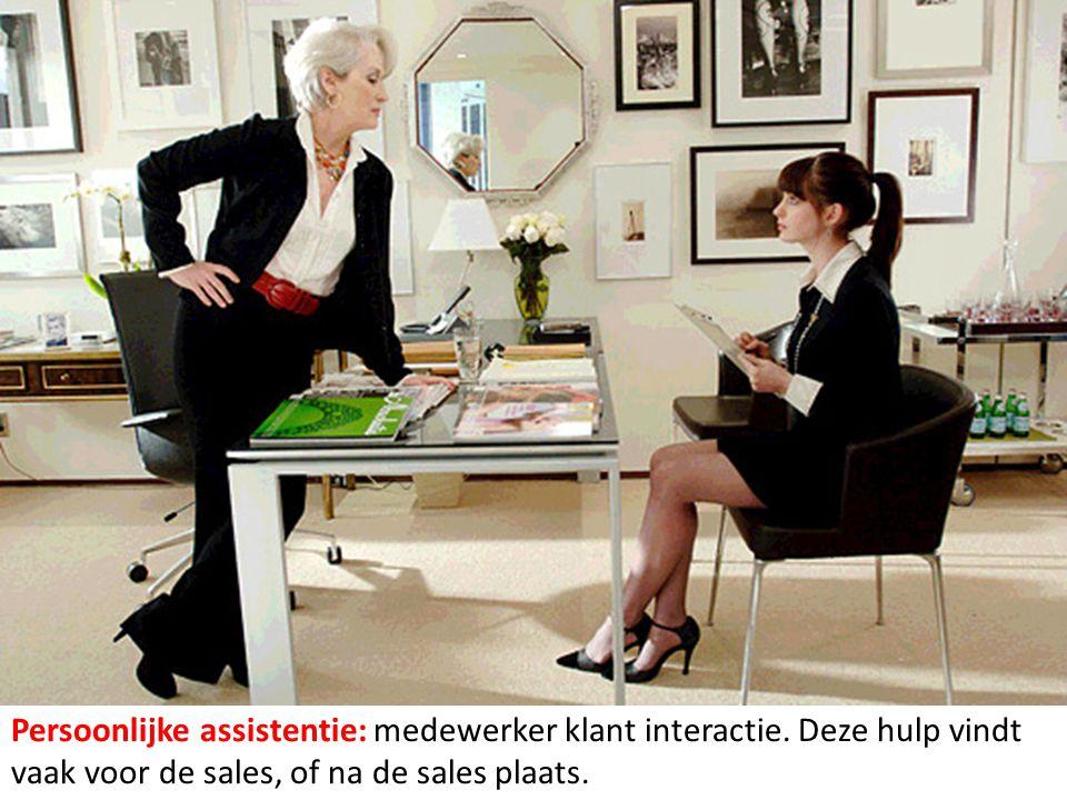 Persoonlijke assistentie: medewerker klant interactie