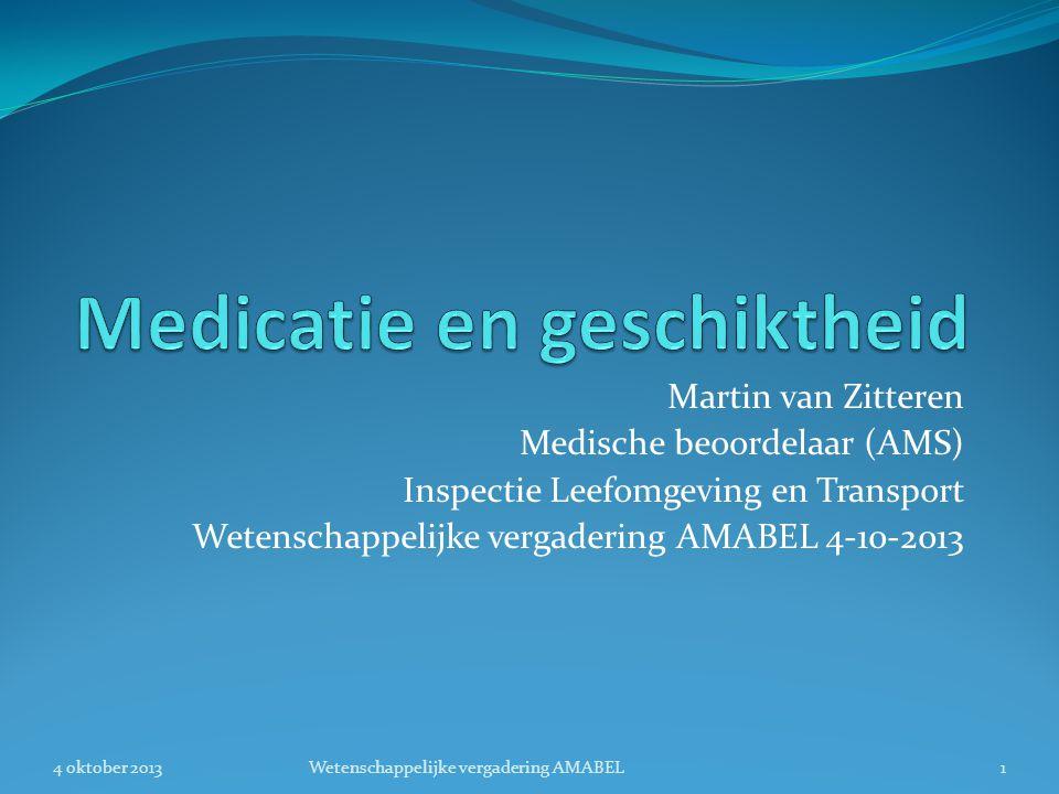 Medicatie en geschiktheid