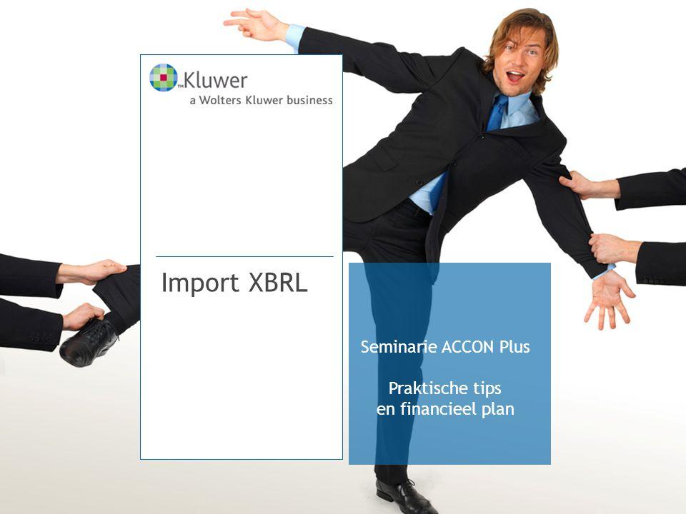 Import XBRL