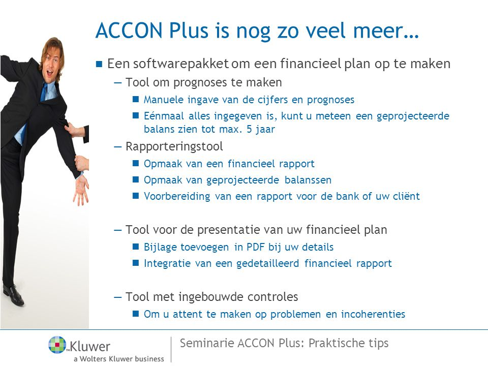 ACCON Plus is nog zo veel meer…