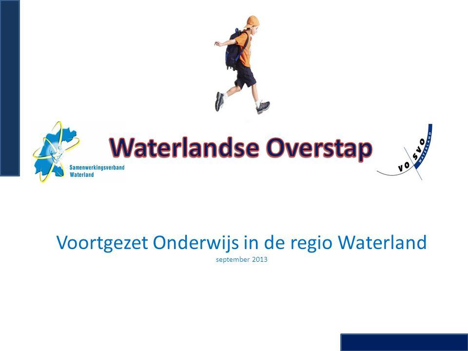 Voortgezet Onderwijs in de regio Waterland