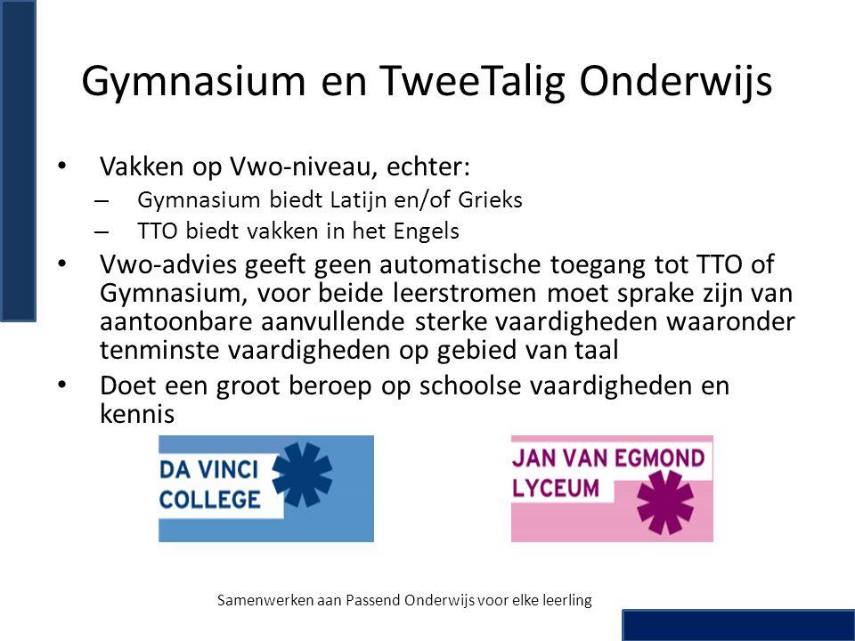 Gymnasium en TweeTalig Onderwijs