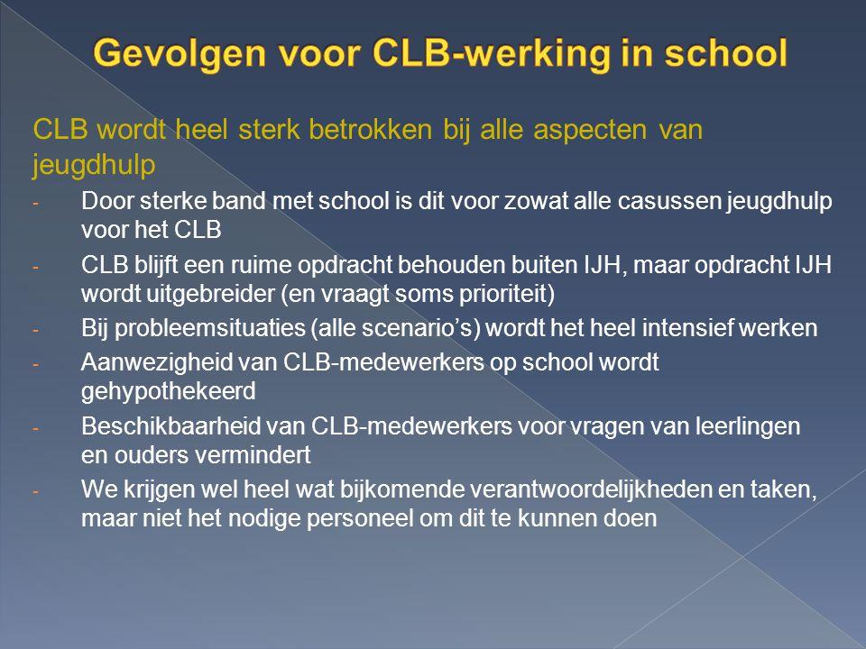 Gevolgen voor CLB-werking in school