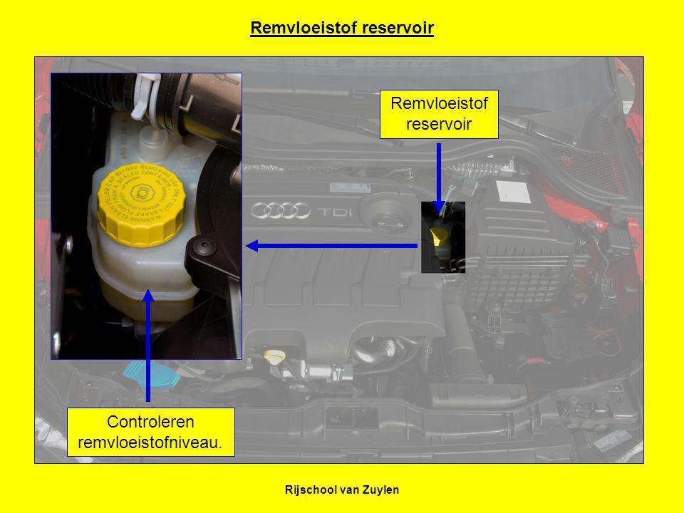 Remvloeistof reservoir