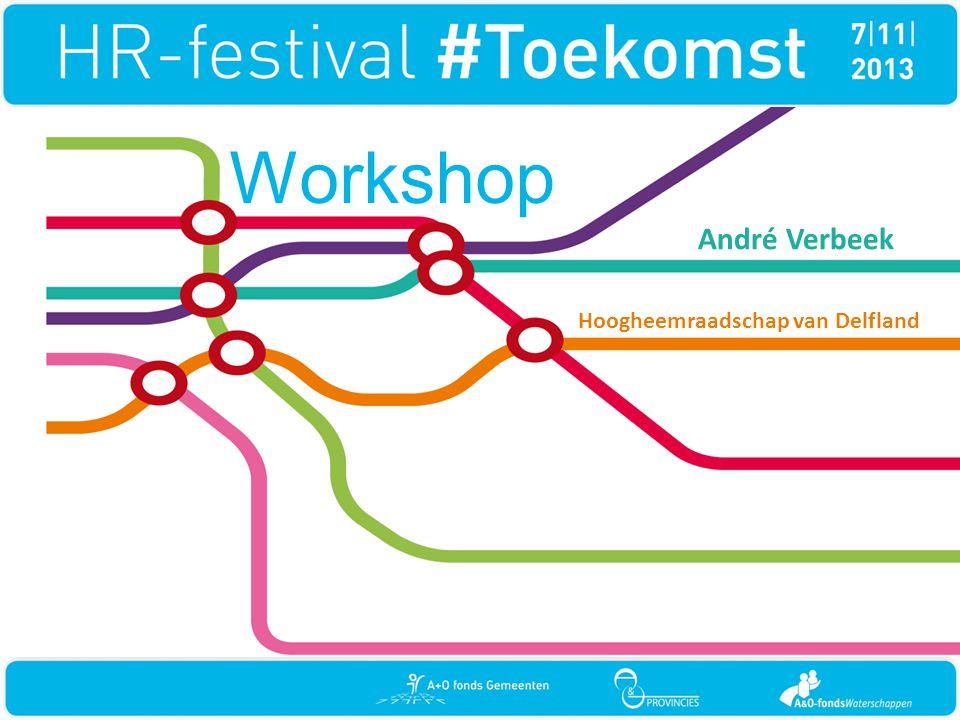 Workshop André Verbeek Hoogheemraadschap van Delfland