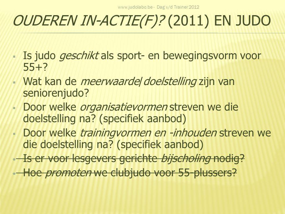 Ouderen in-actie(f) (2011) en judo