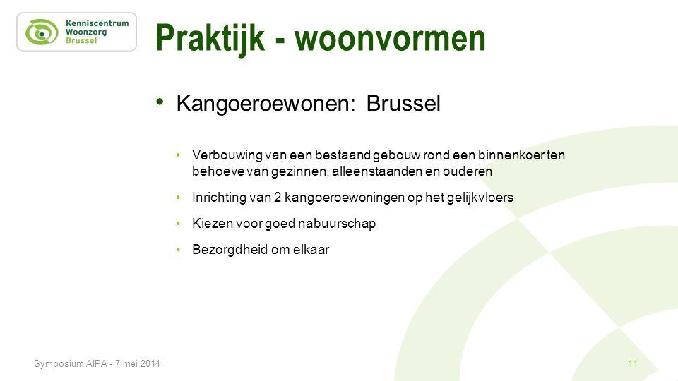 Praktijk - woonvormen Kangoeroewonen: Brussel