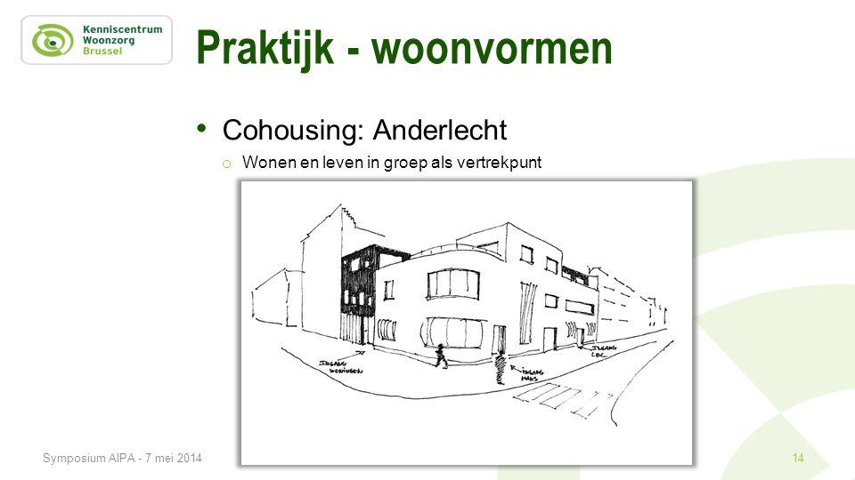 Praktijk - woonvormen Cohousing: Anderlecht