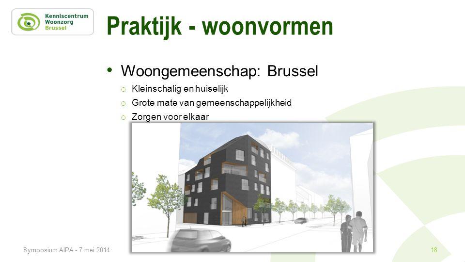 Praktijk - woonvormen Woongemeenschap: Brussel