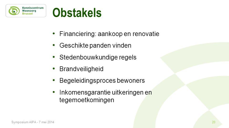 Obstakels Financiering: aankoop en renovatie Geschikte panden vinden