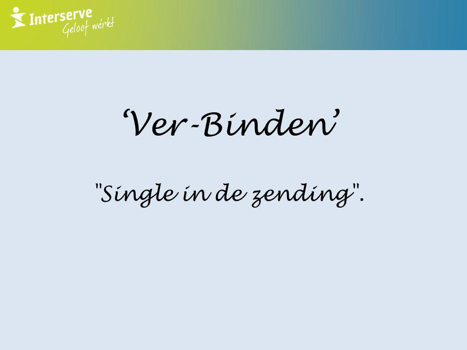 'Ver-Binden' Single in de zending .