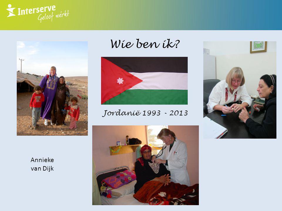 Wie ben ik Jordanië 1993 - 2013 Annieke van Dijk