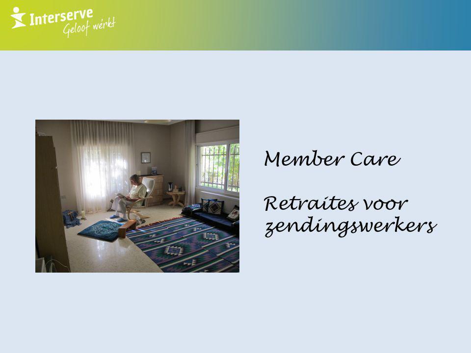 Member Care Retraites voor zendingswerkers