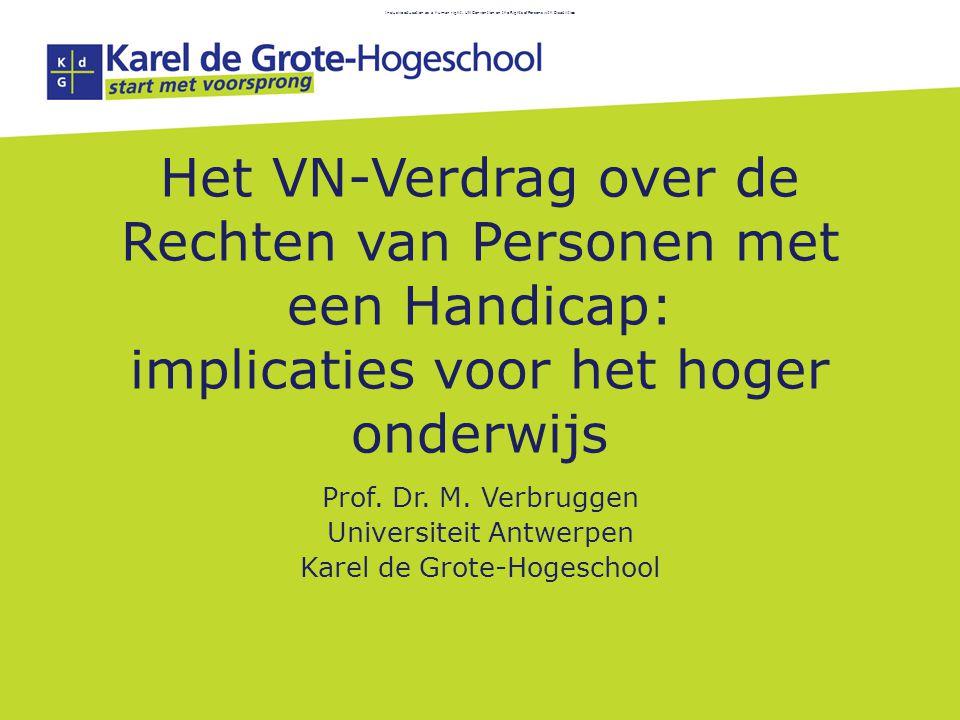 Universiteit Antwerpen Karel de Grote-Hogeschool