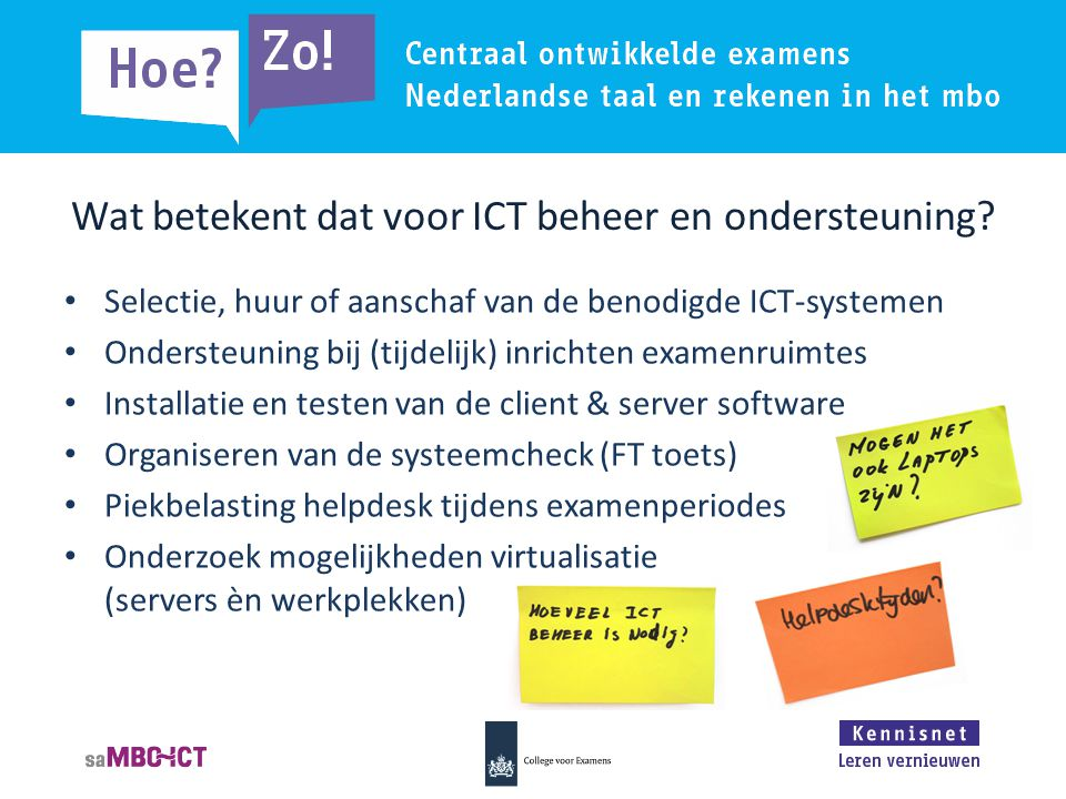 Wat betekent dat voor ICT beheer en ondersteuning