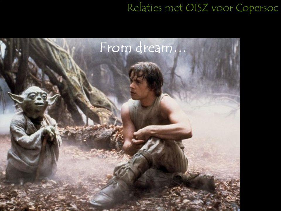 Relaties met OISZ voor Copersoc