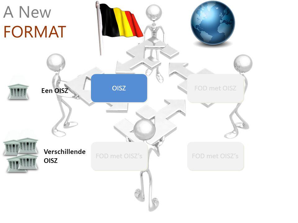 A New FORMAT OISZ FOD met OISZ Een OISZ Verschillende OISZ