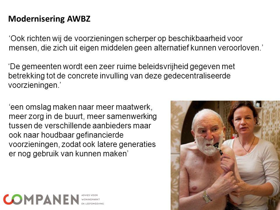 Modernisering AWBZ