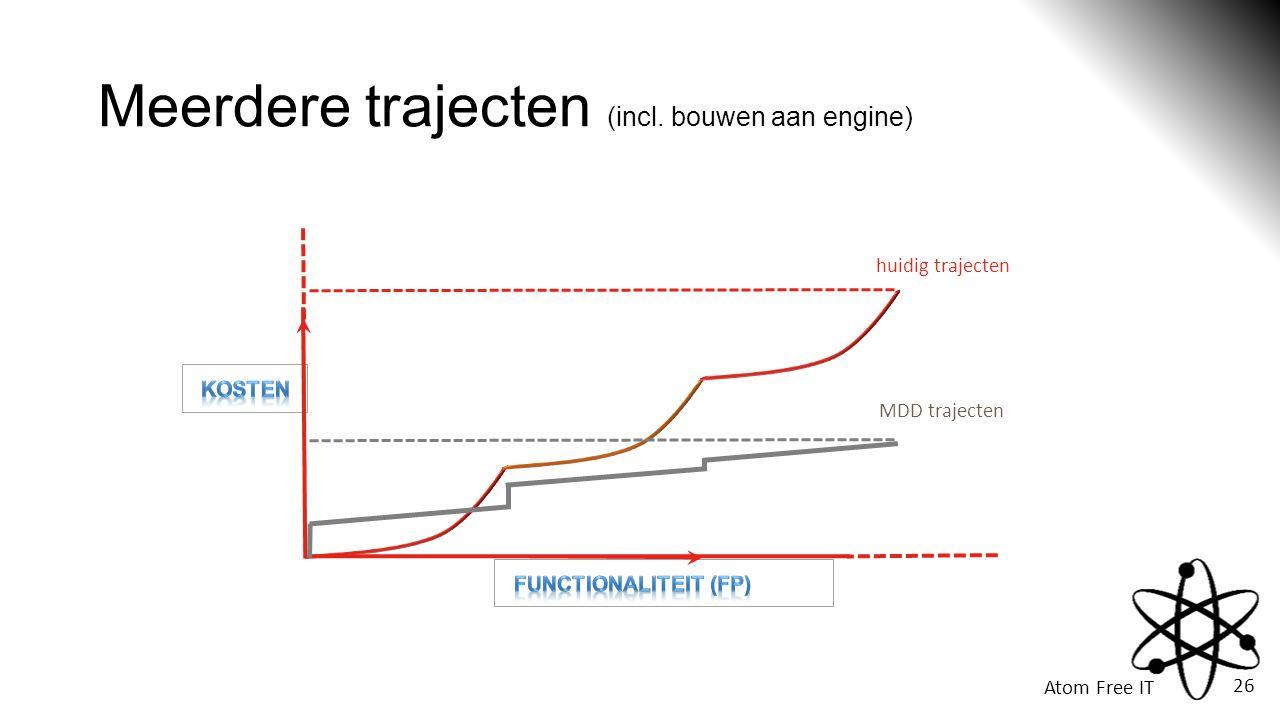 Meerdere trajecten (incl. bouwen aan engine)