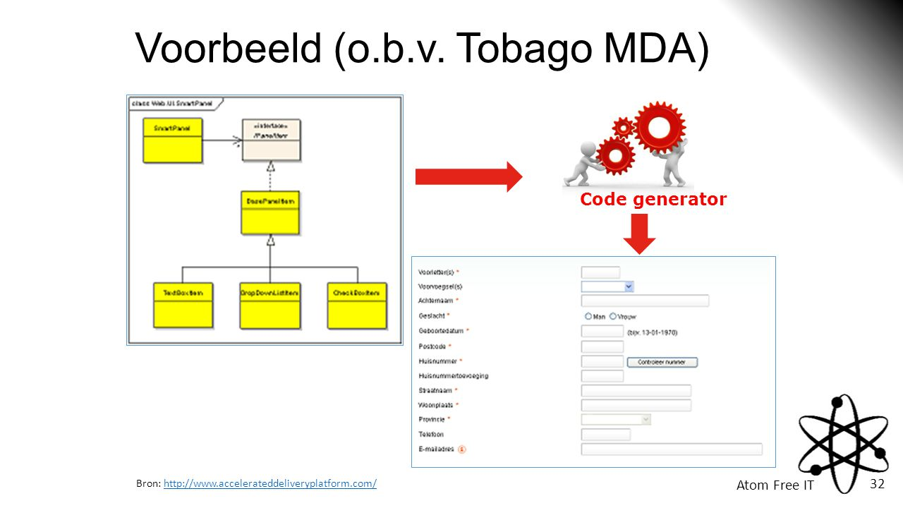Voorbeeld (o.b.v. Tobago MDA)