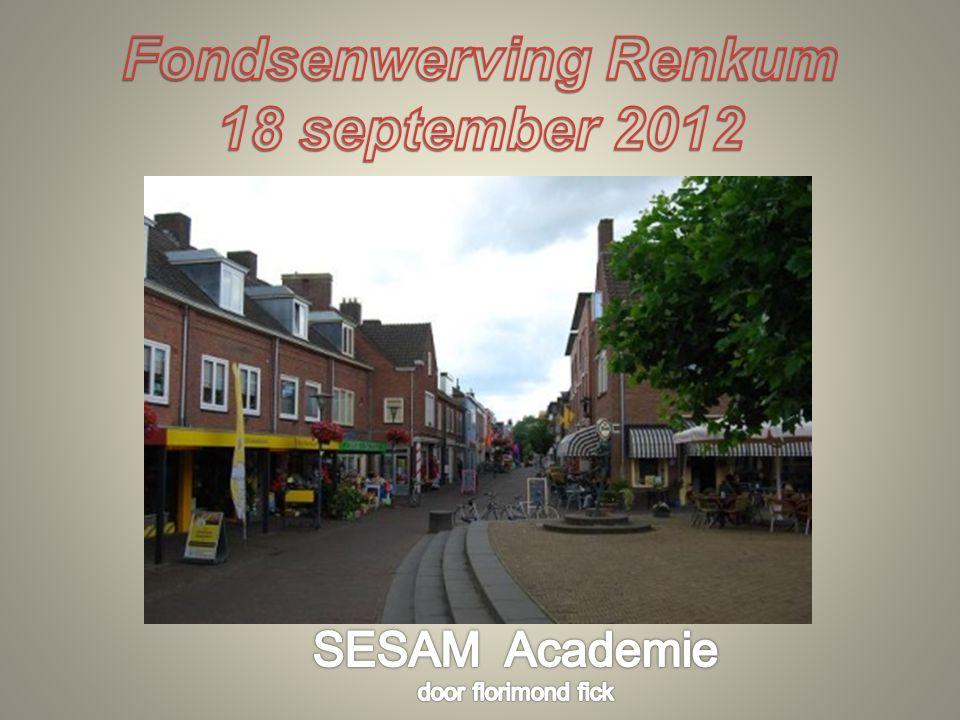 Fondsenwerving Renkum 18 september 2012